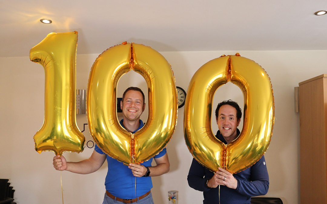 Celebrating Our 1st 100 Properties